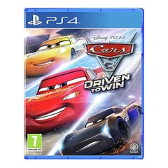 Cars 3: Driven to Win PS4 (русская версия)