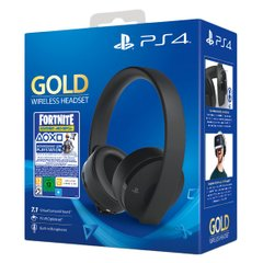 Sony PlayStation Gold Wireless Headset 7.1 Black