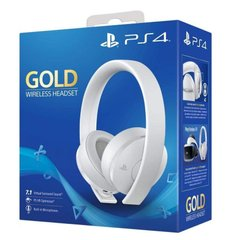 Sony PlayStation Gold Wireless Headset 7.1 White