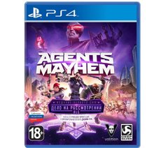 Agents of Mayhem (русская версия) PS4